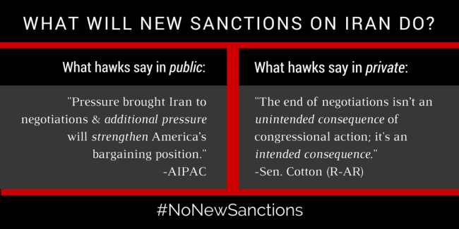 Iran Sanctions- AIPAC and Cotton